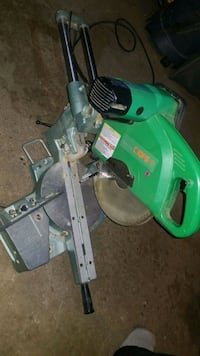 Hitachi C10FS compound sliding mitersaw  Edmonton, T5L