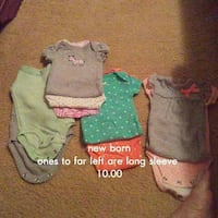 baby's onesies collection Pearisburg, 24134