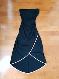 Black Strapless Tulip Dress Toronto, M5B