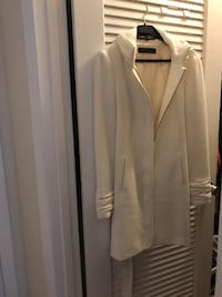 women's white full-zippered jacket Sunny Isles Beach