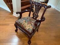 CHIPPENDALE CHILDREN'S CHAIR REPRODUCTION