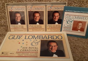 Guy Lombardo His Royal Canadians 3 Cassette Tapes - Reader's Digest EU