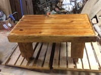 Rustic barnwood coffee table  Brownsburg, 46112