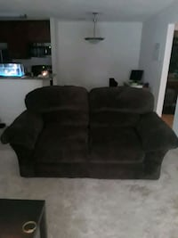 brown  suede loveseat chair Henrico, 23294