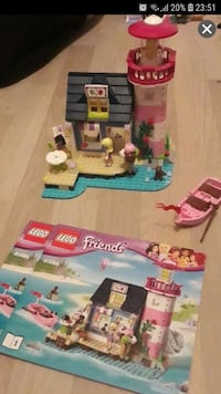 Lego friends fyrhus Rissne, 174 48