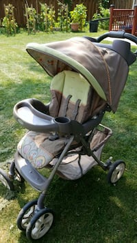 baby's gray and green stroller Toronto, M1R 4X9