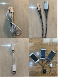 iPhone & Samsung charging cables FREE SHIPPING! Mississauga