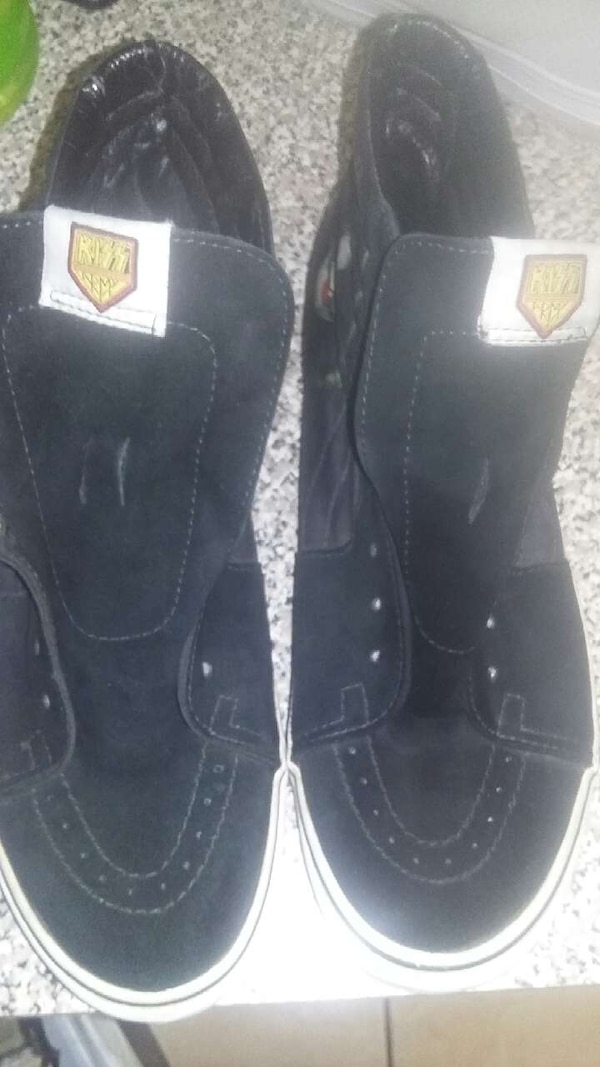 948116a8bd9d7f Used Black KISS BAND Vans for sale in Las Vegas - letgo