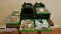 Xbox one 500 gb with 3 controllers and 5 games Victoria, V9B