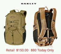 New Oakley Vigor 2.0 BackPack, Coyote  Lake Forest