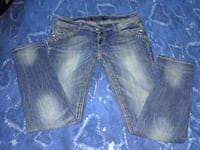blue-washed denim bottoms Chamberlain