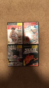 Eight assorted Sony PS2 games Houston, 77047