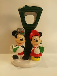 EUC TELEFLORA Mickey and Minnie Tea Light Milford, 18337