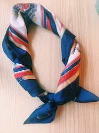 Nautical Vintage Silk Scarf