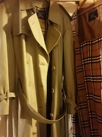$2690.00 Burberry's men's trench coat from London  Brentwood Bay, V8M 1H8