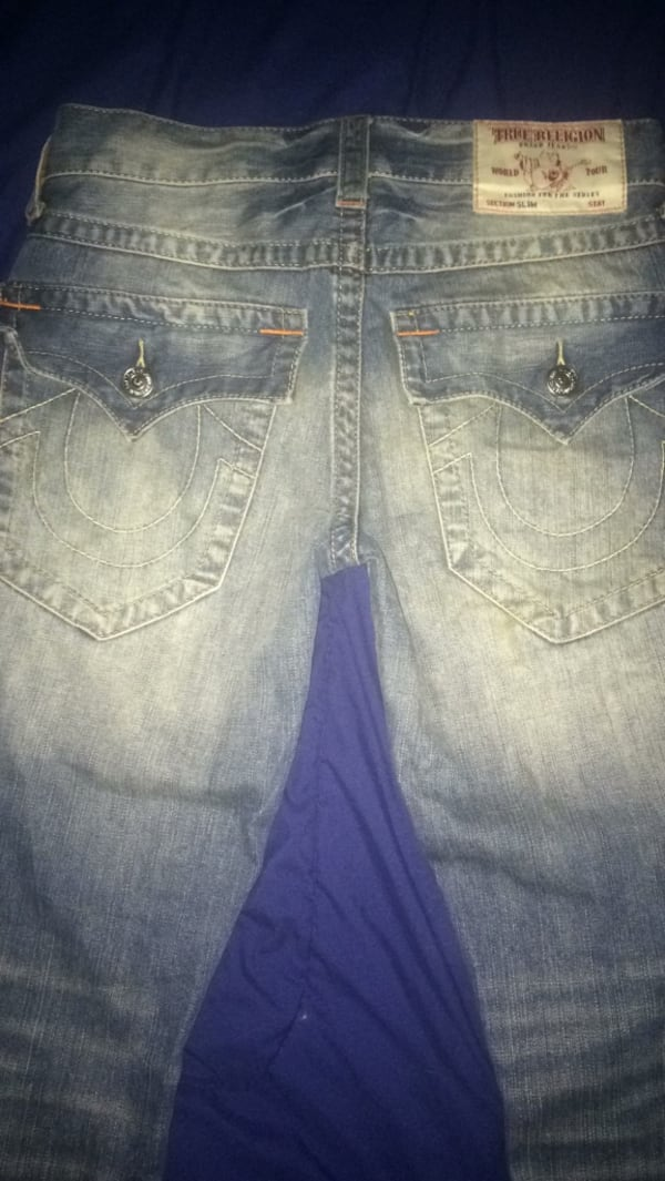 Size 28 slim fit true religion jeans 0