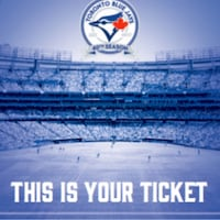 Blue Jays Tix Sept 21 Toronto, M3H 1R1