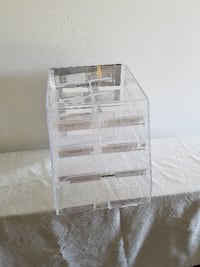 Lucite Fudge / Sweets Case approx. 16 in. tall x 1 ft. wide CLEMENTON