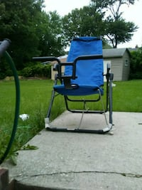 blue and black camping chair Beltsville, 20705