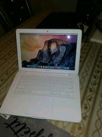 Brand new macbook. White color