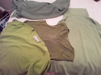 All lime green 4 peices Size: s/m