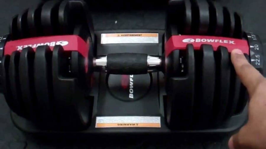 Select Tech 552 series weights & stand 2