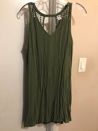 Women's olive green dress Rockville, 20853