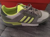 pair of gray Adidas low-top sneakers Montréal, H1M 1G1