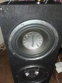 12 inch pioneer subwoofers in bass box Monroe, 28112