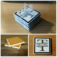 personalized tile coasters - Great CHRISTMAS GIFT Ajax, L1Z 2B6