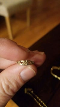 Baby ring size 3/4  .7 grams 10kt Old Town Manassas, 20111