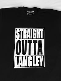 Brand New straight Outta Langley t-shirt