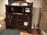 Dining room Hutch and wine server by Broyhill Goshen, 10924