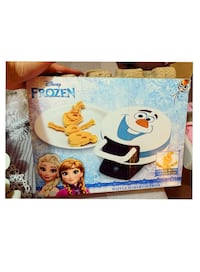 Disney frozen Olaf waffle maker like new  Toronto, M3N 1S1