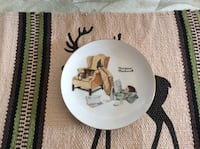 Norman Rockwell Collectible Plate Peach Bottom, 17314