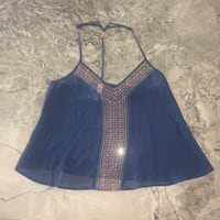 blue and brown halter top Edmonton, T6R 3C5