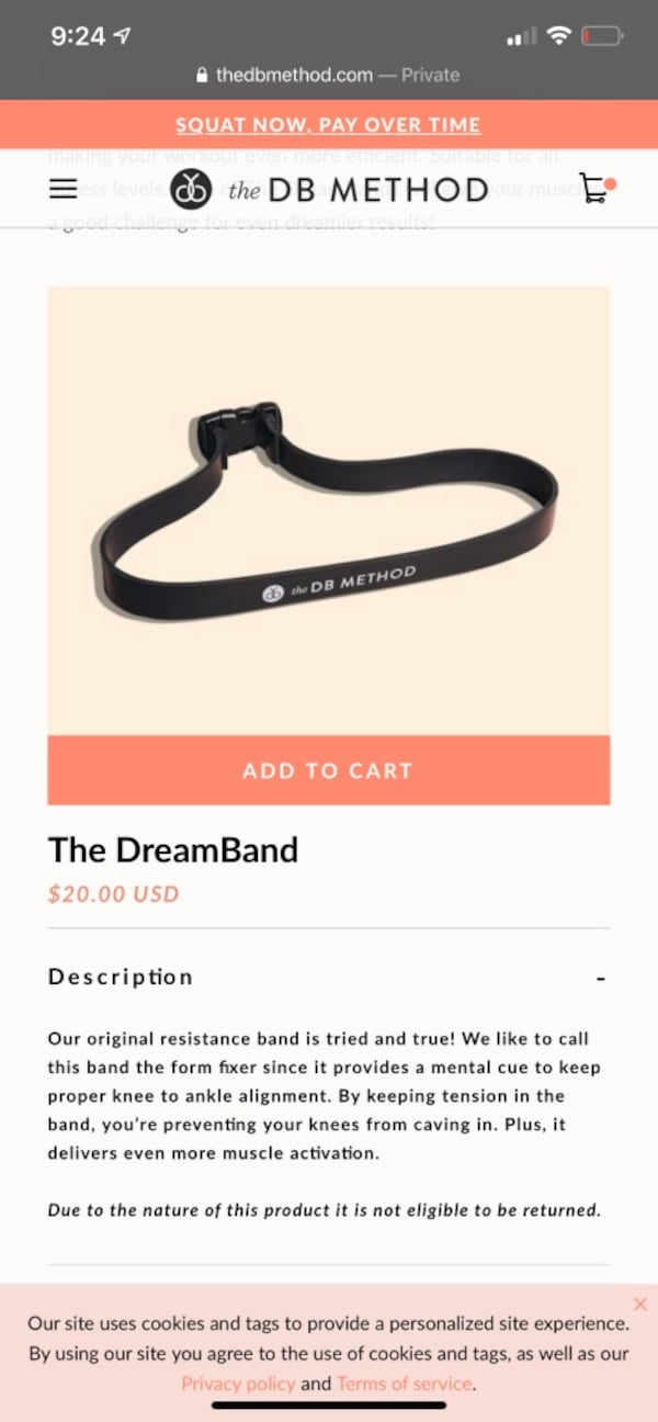 DB method and both dream bands d594ff90-1406-433a-861e-b22062a36219