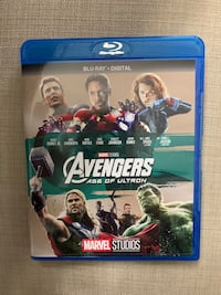 Avengers Age of Ultron BluRay