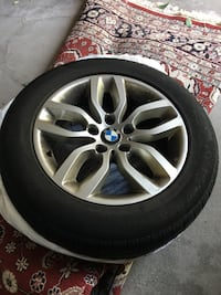 BMW X3 Rims and winter tires  Vaughan, L4J 8W4