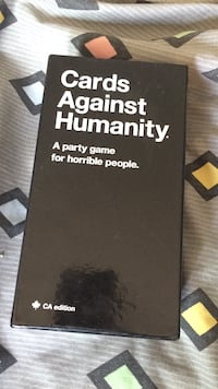 Cards against humanity card game set Calgary, T3R 1N6