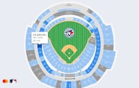 Blue jays tickets Mississauga, L5V 3A1