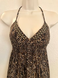 NWOT Sexy and stretchy Animal Print sheer Guess Top. Sz XS  Las Vegas, 89135