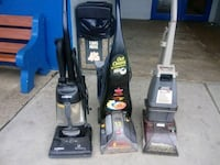 black and gray Bissell upright vacuum cleaner Silver Spring, 20906