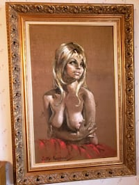 Original signed Betty Raphael Oil Painting