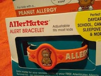 Peanut allergy bracelet also have tree nut and ast Purvis, 39475