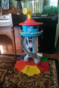 Paw patrol tower with some of the paw patrol characters Candler, 28715
