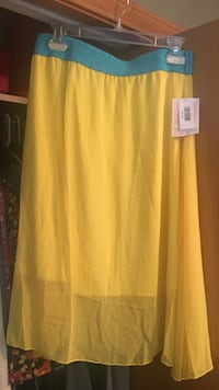 women's yellow midi skirt Shoreline, 98133