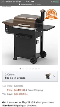BRAND NEW SEALED IN BOX Z Grills Grill and Smoker