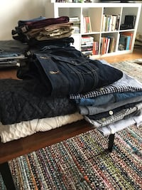 Gap xs men's shirts, sweaters, and denim jacket Silver Spring, 20910