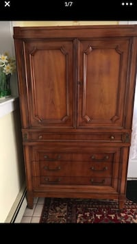 Armoires and dresser set